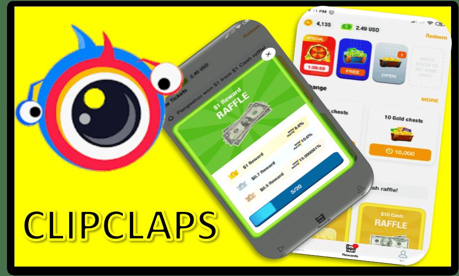 Clipclaps App Para Ganar Dinero A Paypal Y Tarjetas De Amazon
