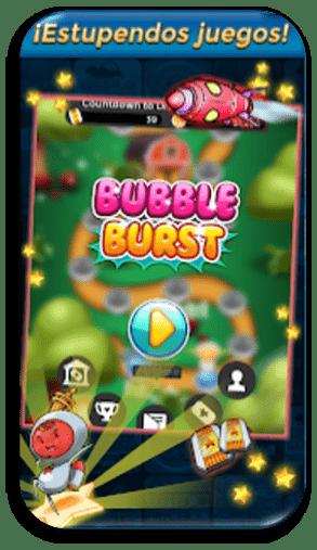 Bubble Brust App para ganar dinero a PayPal